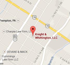 Knight & Whittington Map
